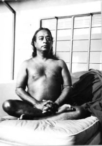 Paramhansa Yogananda our guru wearing the astrological bangle & navaratna gem bracelet