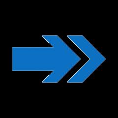 Right arrow translated
